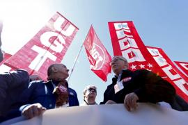 UGT y CC.OO. reclaman reformas laborales, un aumento del salario mínimo y una renta de ingresos mínimos