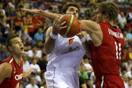 España cierra la primera fase con un amplio triunfo sobre Canadá (89-67)
