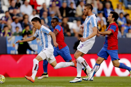 El Levante pierde en Málaga y desciende a Segunda División
