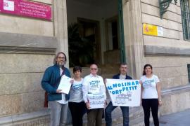 20.000 firmas contra la ampliación del puerto de es Molinar