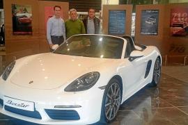El nuevo 718 Boxster llegó al Centro Porsche Baleares