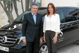 Autovidal entregó el nuevo Clase V Avantgarde al Hotel Port Adriano