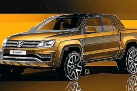 Volkswagen muestra las líneas del nuevo Amarok