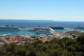 Un total de 8 cruceros han hecho escala en Palma este martes