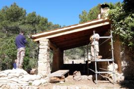 El refugio de sa Coma d'en Vidal estará abierto antes de final de año