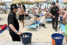 Cort dobla el número de policías del dispositivo de refuerzo para el verano