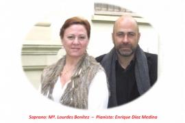 'En-canto español' con Benítez y Díaz Medina en colegio Sant Francesc