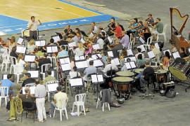 Marcello Rota ensaya con la Simfònica el concierto de mañana con Andrea Bocelli