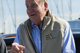 Don Juan Carlos regresa a Mallorca