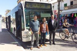 La EMT ampliará la línea 21 para enlazar aeropuerto y Arenal de Llucmajor