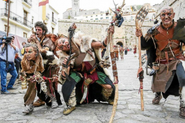 Arranca la Feria Medieval con los ojos puestos en el cielo