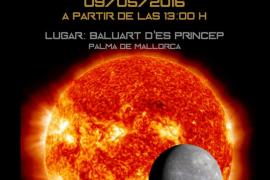 El tránsito de Mercurio, desde el Baluard del Príncep