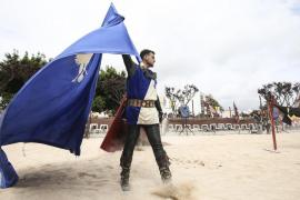 Juegos y malabares en la Feria Medieval