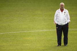 """Del Bosque: """"España ha jugado bien y sólo nos ha faltado el atino final"""""""