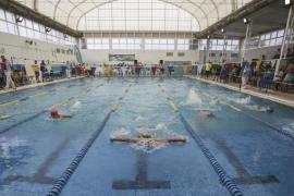 Trofeo Fiestas de Mayo de natación en Santa Eulària