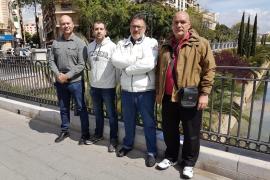 Un vigilante de Es Pinaret denuncia acoso laboral e inicia una huelga de hambre