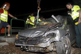 El peatón fallecido en la autopista de s'Arenal estaba tratando de cruzar cuando fue atropellado