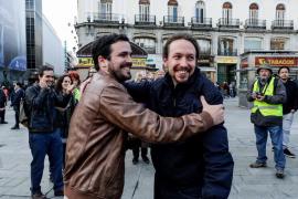 Podemos e Izquierda Unida alcanzan un acuerdo para concurrir juntos a las elecciones