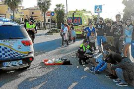 Piden dos años para un conductor que atropelló a un menor en Llucmajor y huyó