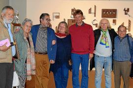 Moisès Gil inaugura la segunda parte de la exposición 'Estructura-Cos-Espai'