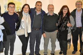Joan Suau presenta su obra en la galería Dionís Bennàssar