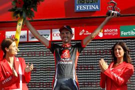 David López (Caisse D'Espargne) se  estrena en Alcoy e Igor Antón (Euskaltel) sigue líder