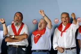 Méndez abandera la llamada a la huelga general en un Rodiezmo sin Zapatero
