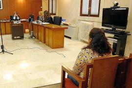 Condenada a un año y tres meses de cárcel por acuchillar a su pareja en Palma