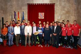 Armengol muestra su orgullo por el papel del Palma Futsal en la Copa del Rey