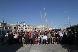 Concentración de entidades cívicas para ampliar el club del Molinar