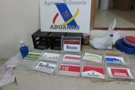 Operación contra la venta ilegal de tabaco en distintos puntos de la Isla