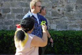 Detienen a tres claveleras en Palma por robar a turistas