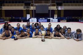 El Xelska, campeón de España absoluto de gimnasia artística en categoría femenina