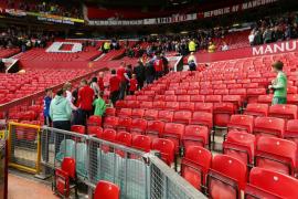 Evacuado el estadio de Old Trafford por un paquete sospechoso