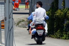 Alonso dice que el equipo decidió que permaneciese por detrás de Button