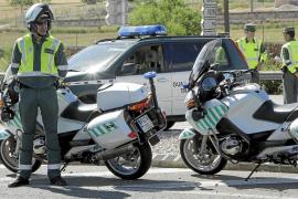 El aumento de pruebas deportivas colapsa a la Guardia Civil de Tráfico en Balears