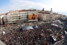 El 15M llena la Puerta del Sol cinco años después