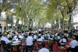 La Banda Municipal de Palma saca su música a la calle
