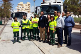 Emaya refuerza su servicio de limpieza para la Playa de Palma para este verano