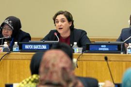 Ada Colau critica en la ONU la política de acogida de refugiados en Europa