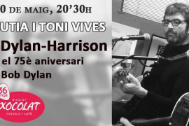 Xavier Escutia y Toni Vives tocan en Espai Xocolat