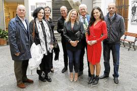 Francesca Martí presenta sus obras en la Estación del Tren de Sóller