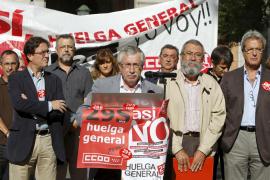 CCOO y UGT advierten de que todas las huelgas generales han tenido efectos