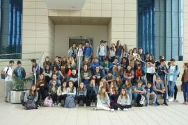 Alumnes de l'IES Bendinat visitaren Grup Serra i Endesa
