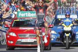 Imanol Erviti conquista su segunda etapa y Joaquín Rodríguez se coloca como nuevo líder