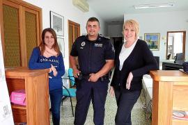 El único policía de Lloret salva la vida a un hombre que padeció un infarto