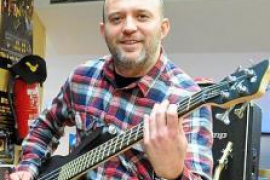 Óscar García: «Vine por primera vez a Eivissa a tocar a Sant Agustí y cayó una tromba de agua brutal»