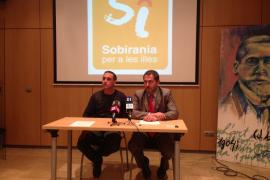 Sobirania sale a representar los intereses del país en las Cortes españolas