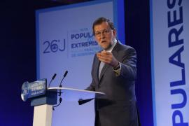 Rajoy apoya al PP balear, «un gran partido que siempre ha ganado las elecciones» en las islas