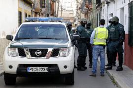 Los narcos colombianos montaron en un trastero de Gomila su laboratorio de coca